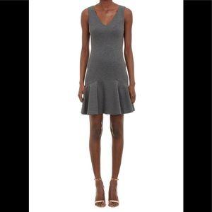 New! Diane von Furstenberg Carla dress Gray 6 $425
